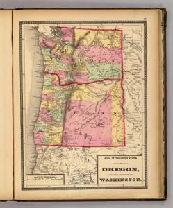 Oregon, and the Territory of Washington.