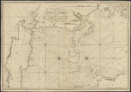 New chart of the straits of Sunda, Banca, Gaspar and Billiton