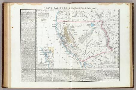 Nuova California ; Baie di Monterey e di Francisco.