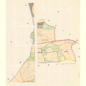 Friesedorf (Března) - m0664-2-003 - Kaiserpflichtexemplar der Landkarten des stabilen Katasters