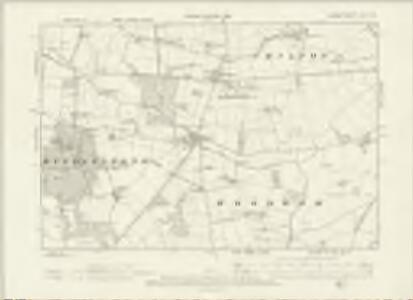 Durham XLIII.NW - OS Six-Inch Map