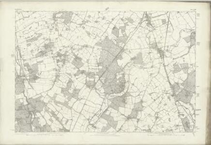 Hertfordshire XXXVI - OS Six-Inch Map