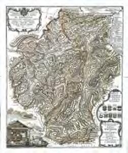 Topographische Tabelle der beiden Entlibucher=Æmter Schupfheim und Eschlismatt im Canton Lucern