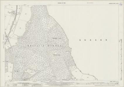 Hampshire and Isle of Wight LXXVI.4 (includes: Havant; Rowlands Castle; Stoughton; Westbourne) - 25 Inch Map