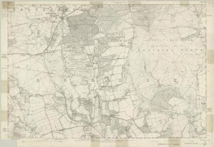 Hampshire & Isle of Wight LXXX - OS Six-Inch Map