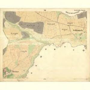 Tweras - c7609-1-007 - Kaiserpflichtexemplar der Landkarten des stabilen Katasters
