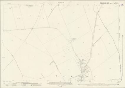 Hertfordshire V.10 & 11 (includes: Barkway; Barley; Great Chishill; Heydon; Little Chishill) - 25 Inch Map