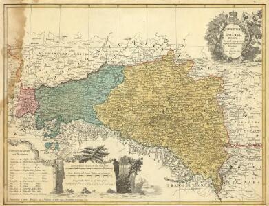 Lubomeriae et Galliciae Regni Tabula Geographica