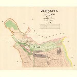 Žerawitz - m3652-1-001 - Kaiserpflichtexemplar der Landkarten des stabilen Katasters