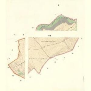 Przaslawitz - m2442-1-001 - Kaiserpflichtexemplar der Landkarten des stabilen Katasters