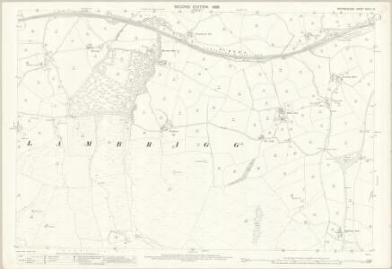 Westmorland XXXIV.15 (includes: Firbank; Grayrigg; Lambrigg) - 25 Inch Map