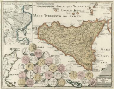 Siciliae Antiqva quae et Trinacria dicta Nummis Siculis illustrata