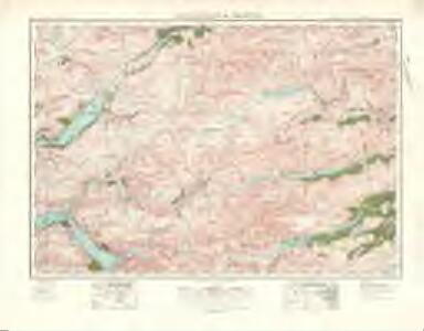 Lochcarron  & Dornie (36) - OS One-Inch map
