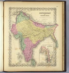 Hindostan Or British India.