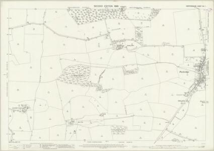 Hertfordshire XXII.1 (includes: Braughing; Great Munden; Standon) - 25 Inch Map