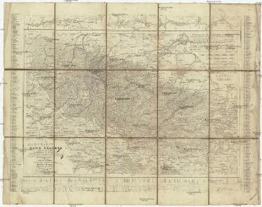 Charte von dem Harz Gebirge und einem Theile der umliegenden Gegenden