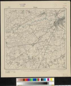 Meßtischblatt 2434 : Hamm, 1914