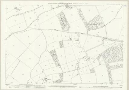 Lincolnshire LXIII.7 (includes: Hatton; Langton by Wragby; Panton; Sotby) - 25 Inch Map