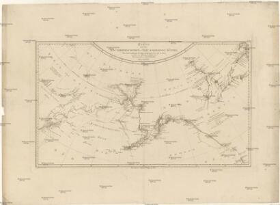 Karte von den n.w. amerikanischen und n.oe. asiatischen Küsten