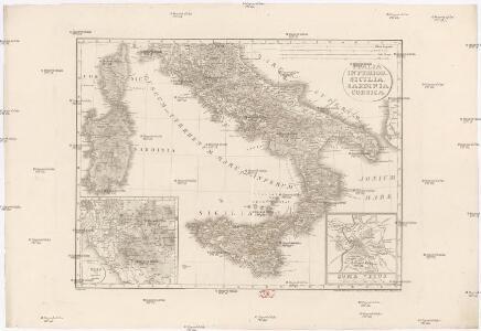 Italia inferior, Sicilia, Sardinia, Corsica