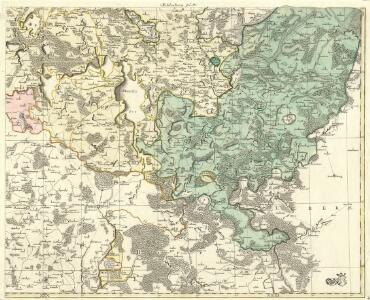 Mappa Ducatus Megalopolitani Nova :