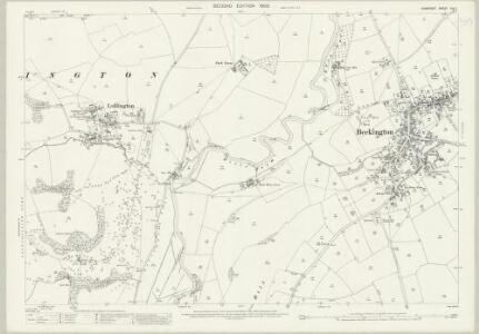 Somerset XXX.7 (includes: Beckington; Berkley; Lullington) - 25 Inch Map