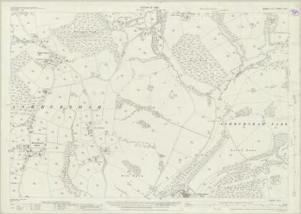 Sussex LVII.1 (includes: Ashburnham; Catsfield; Penhurst) - 25 Inch Map