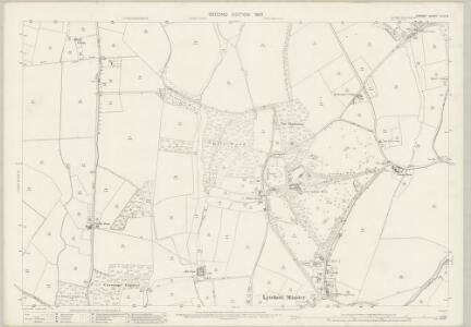 Dorset XLIII.6 (includes: Lytchett Matravers; Lytchett Minster) - 25 Inch Map