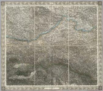 Sheet IV: Karte Des Oesterreichischen Kaiserstaates.