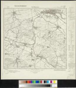 Messtischblatt 2598, neue Nr. 4530 : Nordhausen (Süd), 1934 Nordhausen