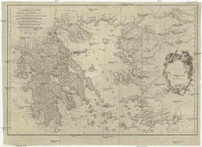 Carte de la Grece anciene