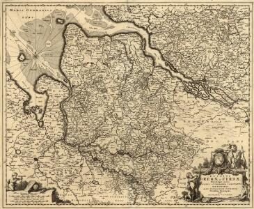Ducatus Bremae et Ferdae Maximaeque partis Ducatus Stormariae Comitatus Oldenburgi, Albis, Visurgisque Fluminum Novissima Descriptio