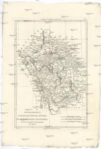 Gouvernements d'Anjou, de Poitou, d'Aunis et de Saintonge-Angoumois