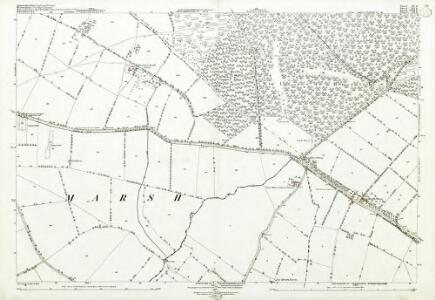 Gloucestershire XV.15 (includes: Barton on the Heath; Batsford; Chastleton; Evenlode; Great Wolford; Little Compton; Moreton in Marsh; Todenham) - 25 Inch Map