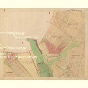 Probitz - m2405-1-001 - Kaiserpflichtexemplar der Landkarten des stabilen Katasters