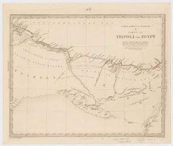 North Africa or Barbary : Parts of Tripoli and Egypt