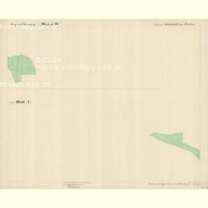 Buchwald - c0626-1-001 - Kaiserpflichtexemplar der Landkarten des stabilen Katasters