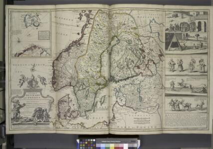 A new map of Denmark and Sweden. ...
