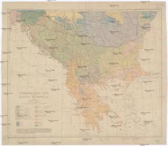Ethnographic map of the Balkan Peninsula
