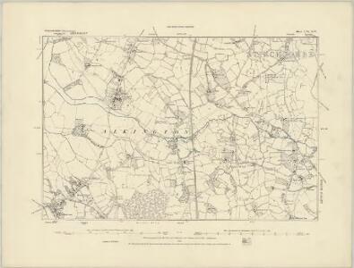 Gloucestershire LV.SE - OS Six-Inch Map
