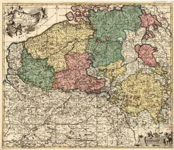 Belgii Regii Accuratissima Tabula