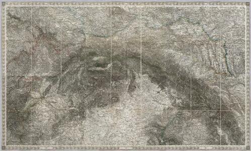 Composite III, IV, V, VIII, IX, X: Karte Des Oesterreichischen Kaiserstaates.