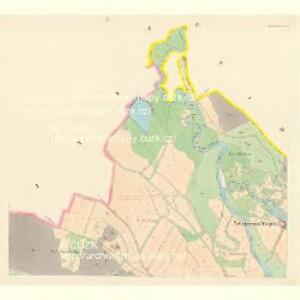 Herzman (Heřmana) - c1842-1-001 - Kaiserpflichtexemplar der Landkarten des stabilen Katasters