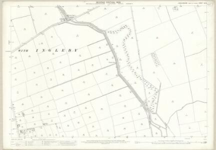 Lincolnshire LX.12 (includes: Broxholme; Burton; Saxilby with Ingleby) - 25 Inch Map