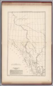Facsimile:  Dawson's Canadian Map, 1887.