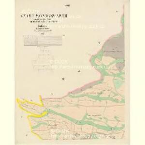 Königswarth - c3820-1-010 - Kaiserpflichtexemplar der Landkarten des stabilen Katasters