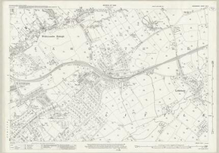 Devon CIII.2 (includes: Littleham; Withycombe Raleigh) - 25 Inch Map