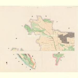 Kregnitz - c3548-1-001 - Kaiserpflichtexemplar der Landkarten des stabilen Katasters