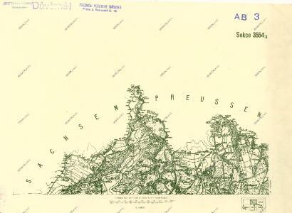 III. vojenské mapování 3554/3