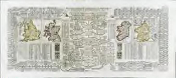 Nouvelle carte pour introduire a la geographie et a la genealogie des rois d'Angleterre et d'Ecosse